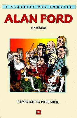 Classici del fumetto (Bur) # 8 - Alan Ford :: ComicsBox