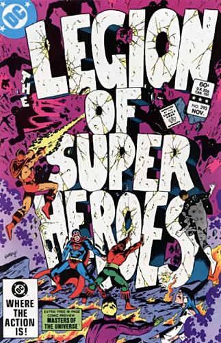 Copertina di Legion of Super Heroes vol 2  n. 293