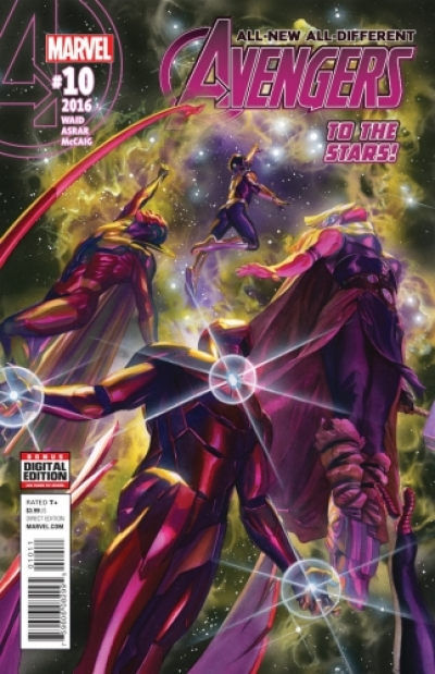 All-New All-Different Avengers # 10