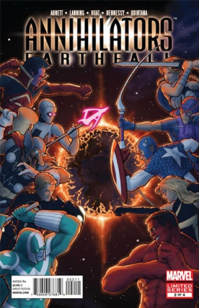 Annihilators: Earthfall # 2