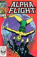 Alpha Flight # 4