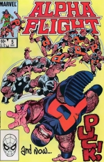 Alpha Flight # 5