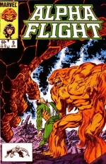Alpha Flight # 9