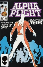 Alpha Flight # 11