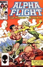 Alpha Flight # 15