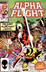 Alpha Flight # 17