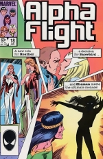Alpha Flight # 18