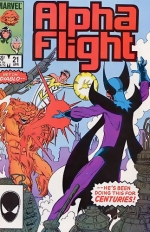 Alpha Flight # 21