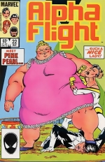 Alpha Flight # 22