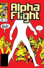 Alpha Flight # 25