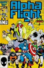 Alpha Flight # 39
