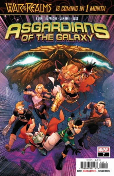 Asgardians of the Galaxy # 7