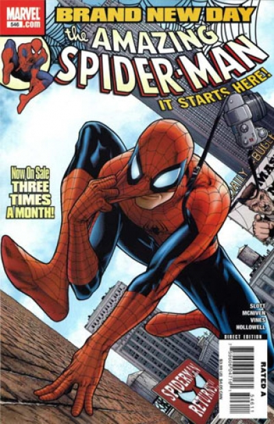Amazing Spider-Man vol 1 # 546