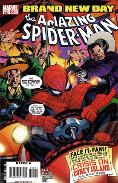 Amazing Spider-Man vol 1 # 563