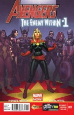 Avengers: The Enemy Within # 1