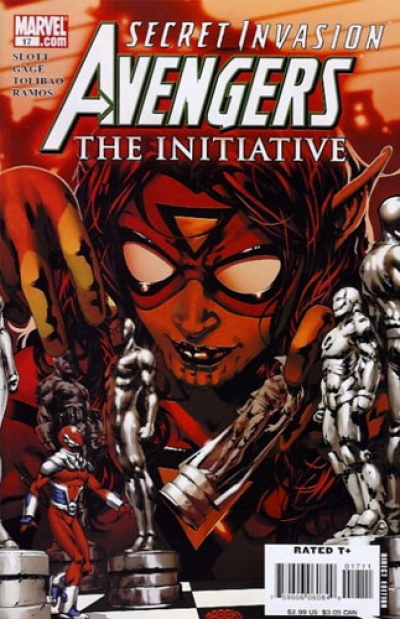 Avengers: The Initiative # 17