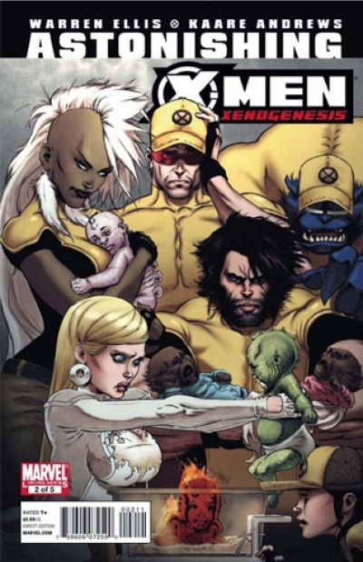 Astonishing X-Men: Xenogenesis # 2