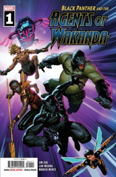 Black Panther and the Agents of Wakanda # 1