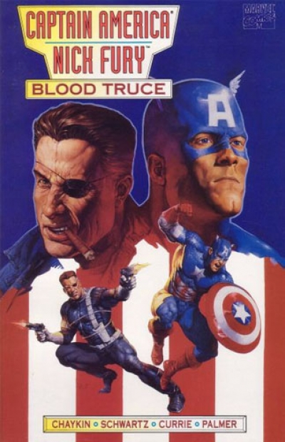 Captain America / Nick Fury: Blood Truce # 1