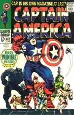 Captain America vol 1 # 100