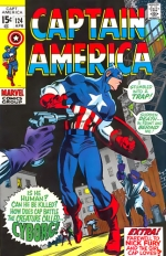 Captain America vol 1 # 124