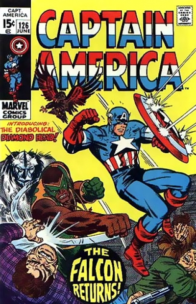 Captain America vol 1 # 126