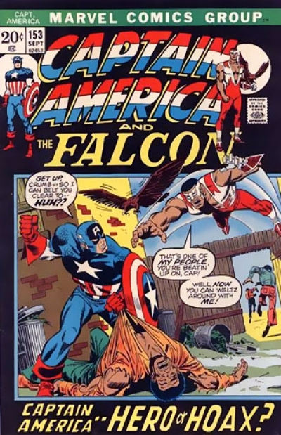 Captain America vol 1 # 153