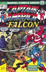 Captain America vol 1 # 174