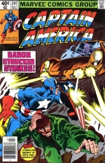 Captain America vol 1 # 247
