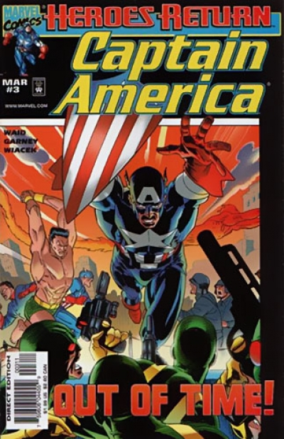 Captain America vol 3 # 3