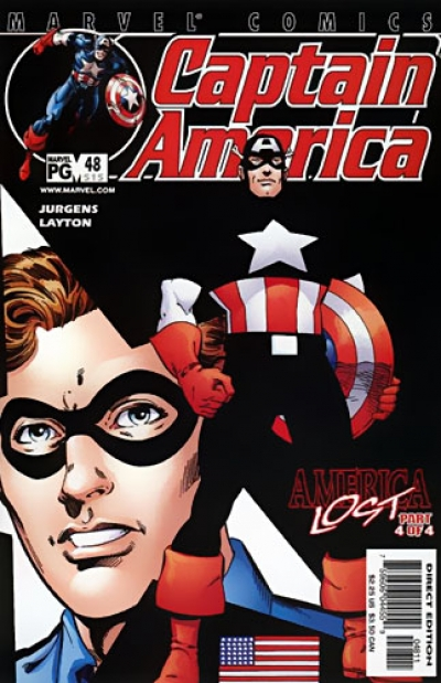 Captain America vol 3 # 48
