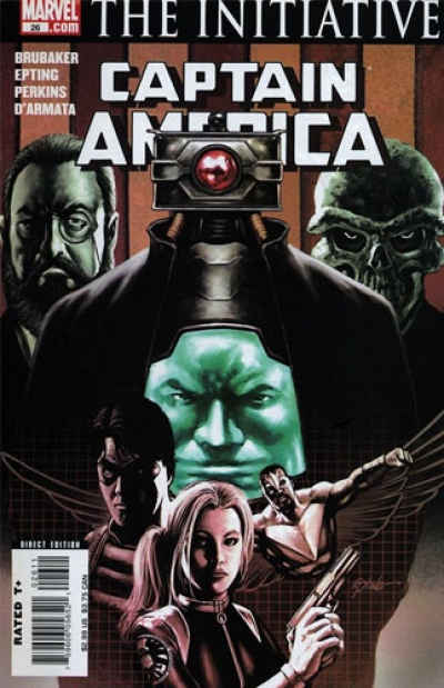 Captain America vol 5 # 26