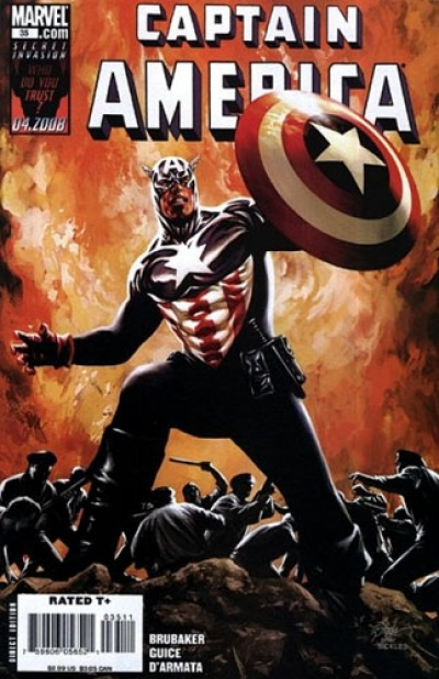 Captain America vol 5 # 35