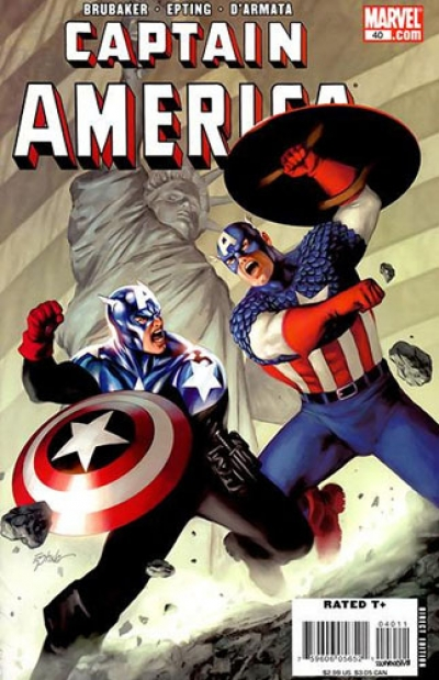 Captain America vol 5 # 40