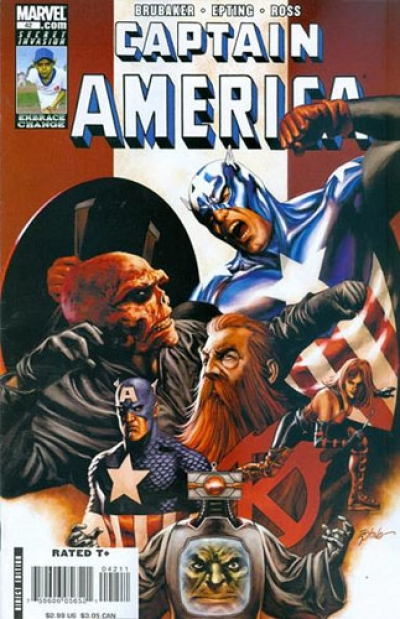 Captain America vol 5 # 42