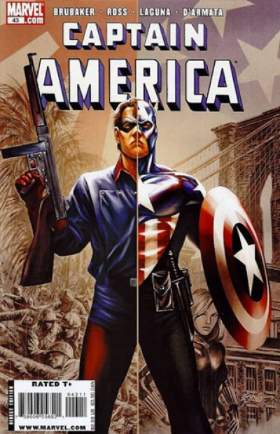 Captain America vol 5 # 43
