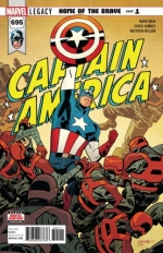 Captain America vol 8 # 695