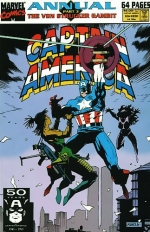 Captain America Annual # 10