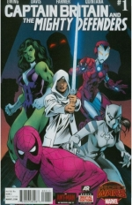 Captain Britain and the Mighty Defenders # 1