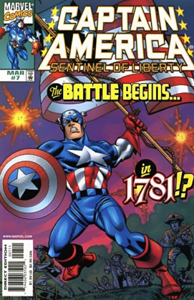 Captain America: Sentinel of Liberty # 7