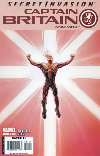 Captain Britain and MI-13 # 4