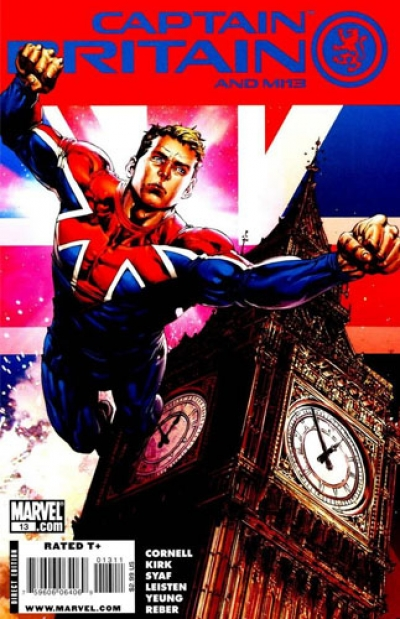 Captain Britain and MI-13 # 13