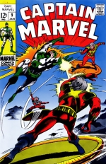 Captain Marvel vol 1 # 9