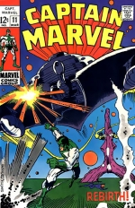 Captain Marvel vol 1 # 11