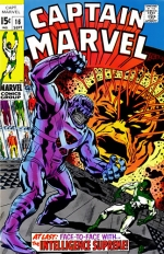 Captain Marvel vol 1 # 16