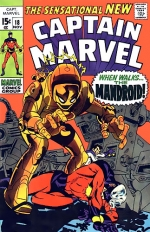 Captain Marvel vol 1 # 18