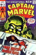 Captain Marvel vol 1 # 19