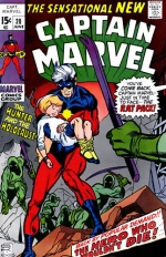 Captain Marvel vol 1 # 20