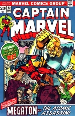 Captain Marvel vol 1 # 22