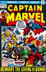 Captain Marvel vol 1 # 23